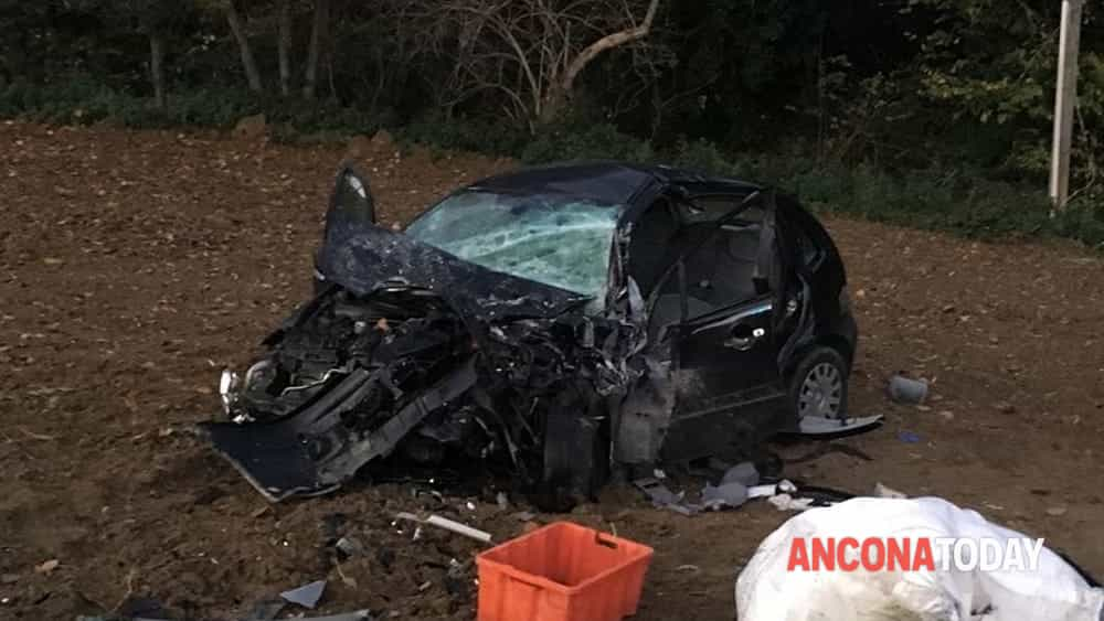 maria amura incidente casenuove auto-2