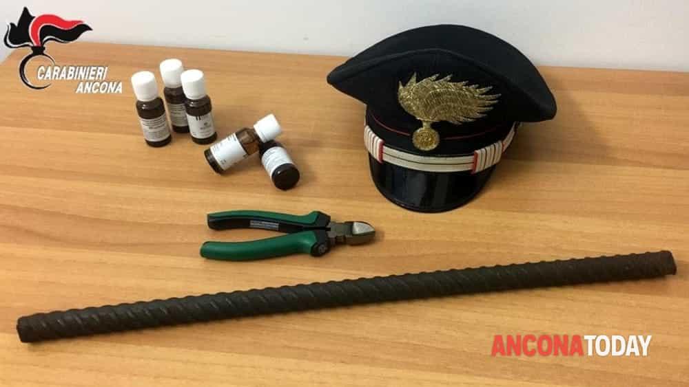 Metadone e armi sequestrate dai carabinieri di Montemarciano-2
