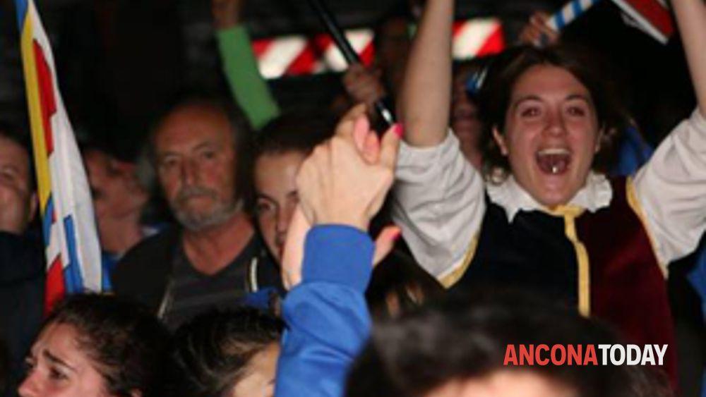 corinaldo: il combusta revixi sale sul podio dei campionati nazionali sbandieratori e musici under18 -6