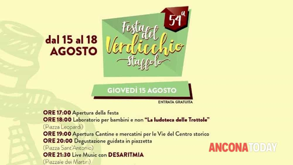 manifesto 2 di 2 - FESTA DEL VERDICCHIO 2019-2