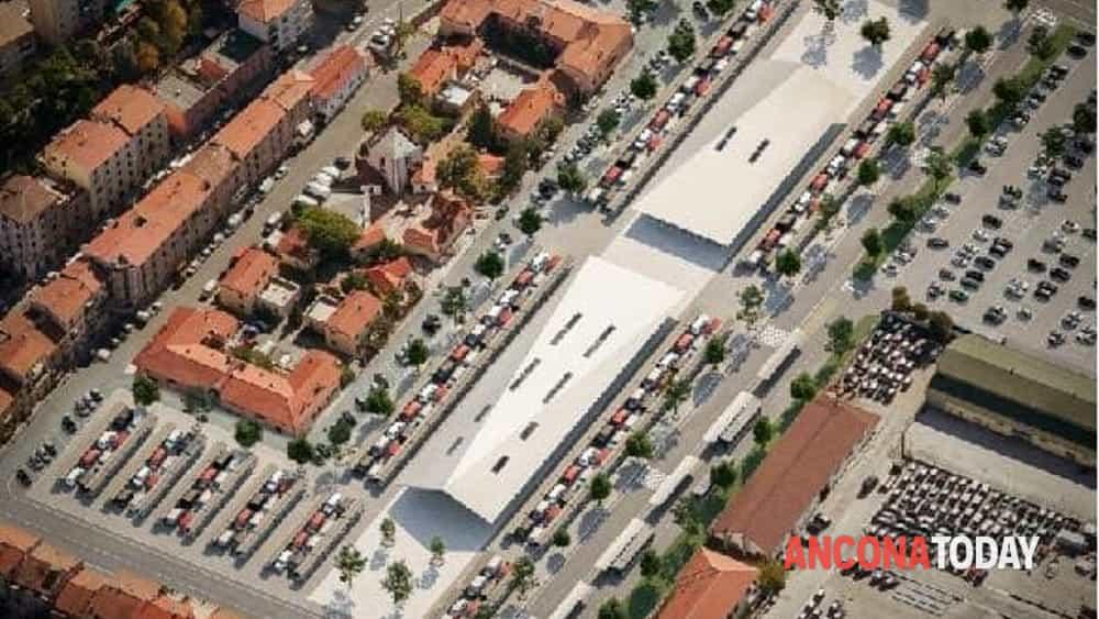 Piazza d'Armi rendering 1-2