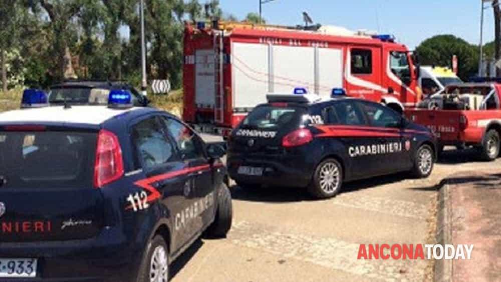carabinieri vigili del fuoco via saline castelferretti-2