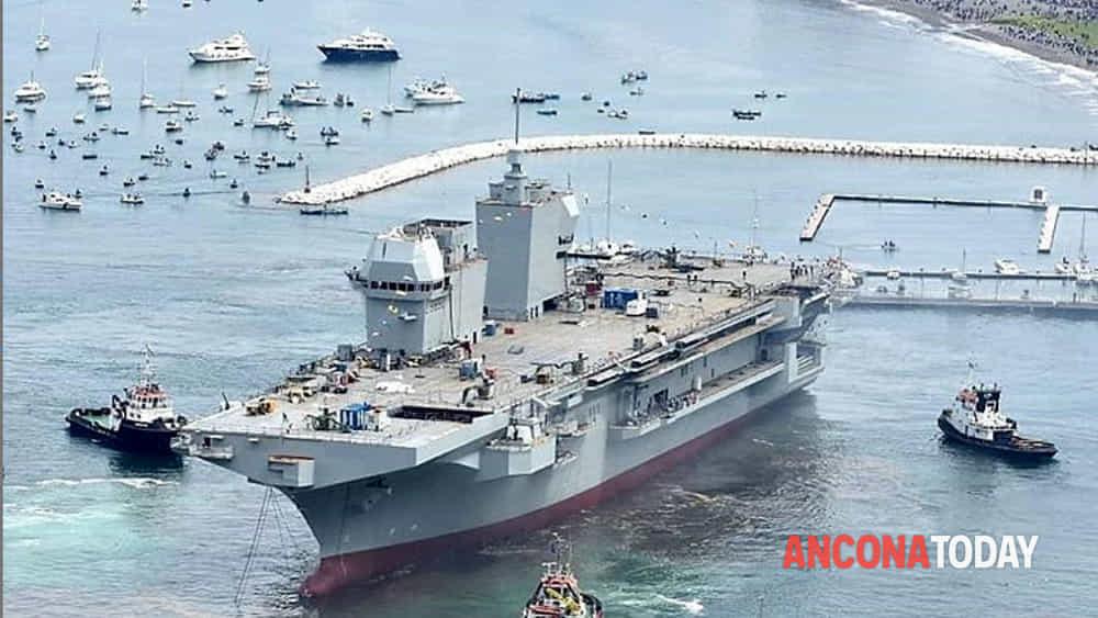 Varo a fincantieri portaelicotteri Trieste dell'Ammiraglia della Marina Militare2-2