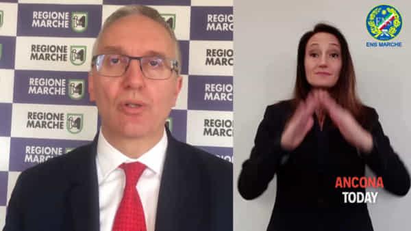 La nuova ordinanza spiegata dal presidente Ceriscioli | VIDEO