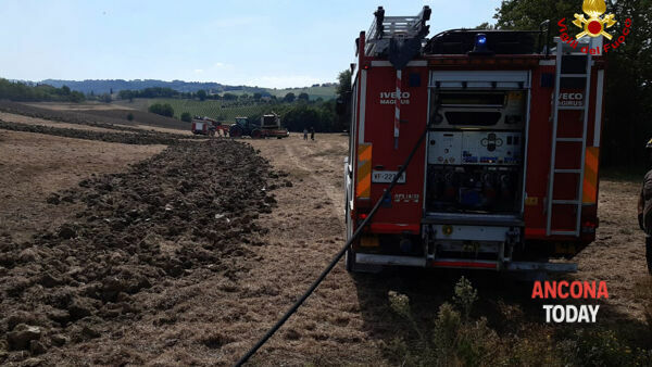 Incendio Montecarotto 2-2