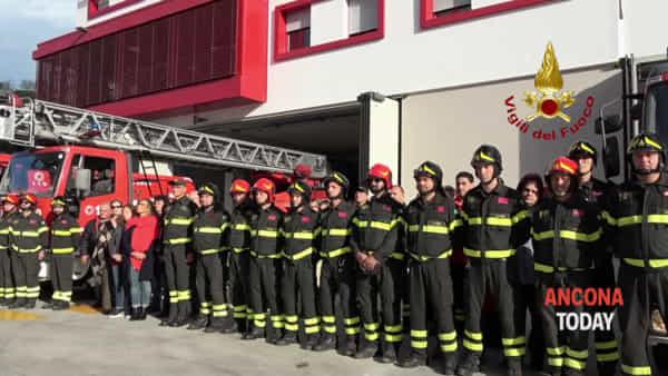 Vigili del fuoco morti ad Alessandria: il cordoglio dei colleghi di Ancona - VIDEO