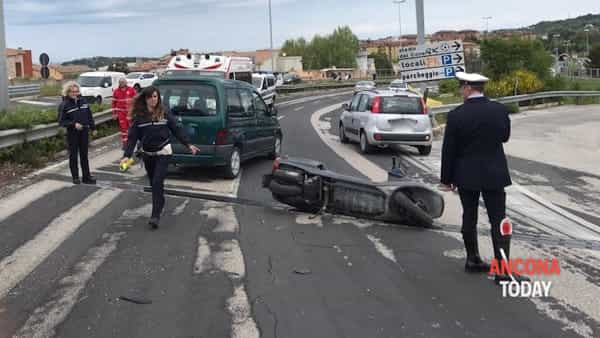 Incidente sull'asse Nord-Sud