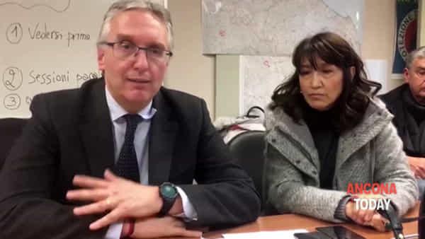 Coronavirus, Ceriscioli: «Pronti 57 posti se dovessero servire» | VIDEO