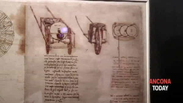 Leonardo e Vitruvio, disegni autentici e realtà virtuale - IL VIDEO DELLA MOSTRA