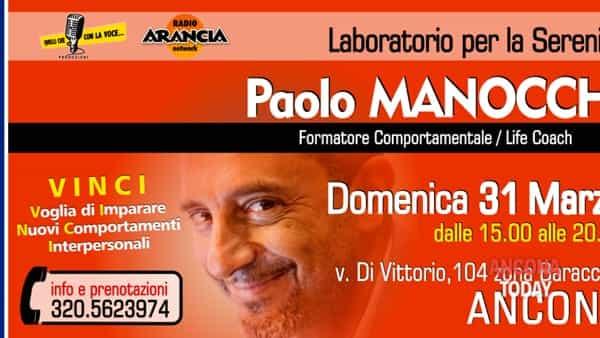 """Paolo Manocchi: il life coach a """"Quelli con la voce"""""""
