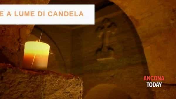 Le grotte a lume di candela: spettacolo soft e romantico