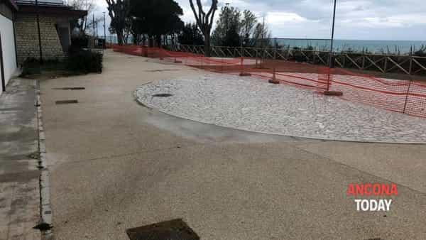 Pavimento sott'acqua ai laghetti del Passetto1-2