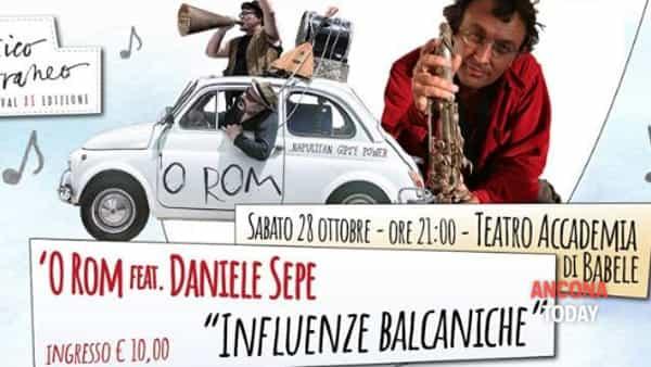 Influenze balcaniche: Daniele Sepe e 'O Rom in concerto