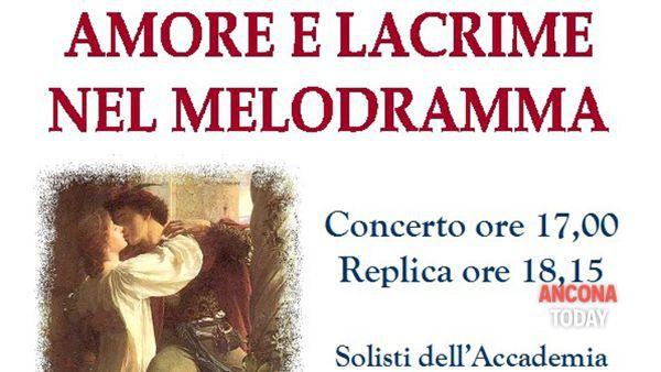"""Osimo, Accademia d'Arte Lirica: """"Amore e lacrime nel melodramma"""""""