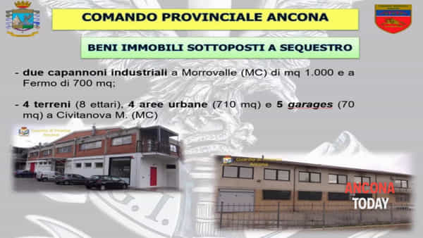 L'appartamento di lusso e i capanni industriali sequestrati all'imprenditore | VIDEO
