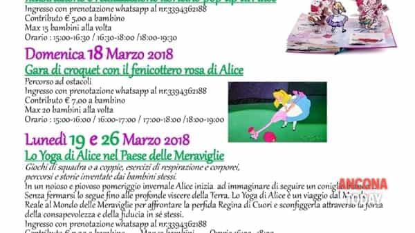 Il paese delle meraviglie: laboratori e attività per bambini con Alice