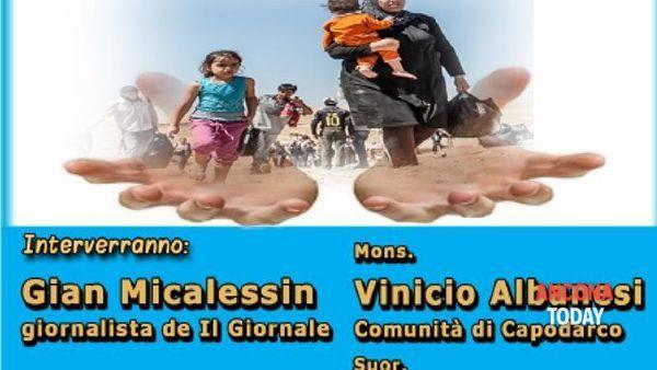 Immigrazione, conferenza con mons. Vinicio Albanesi ed il giornalista Gian Micalessin