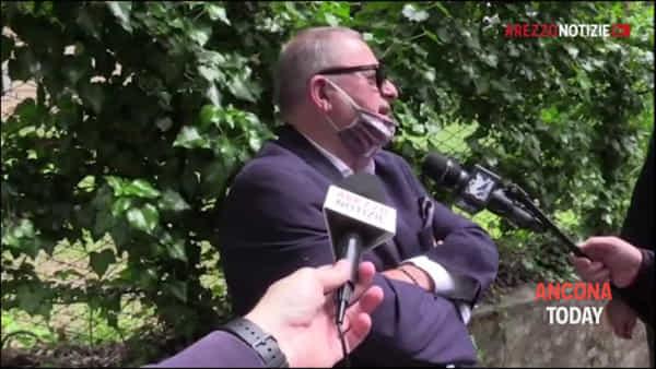 Ritorno all'Ancona, il dribbling di Pieroni: «Parliamo di cose più serie» | VIDEO