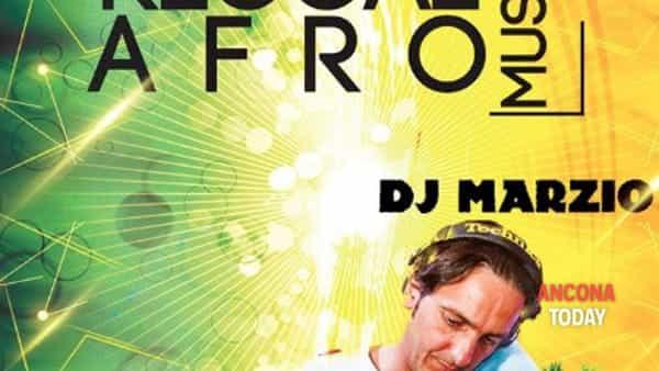Afro music: deejay Marzio in consolle per un sabato caraibico