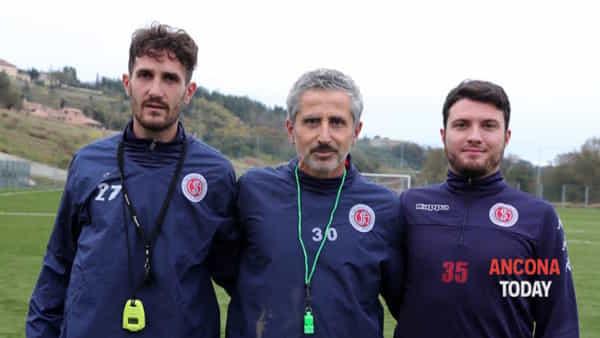 Umberto Marino e il suo staff 1-2