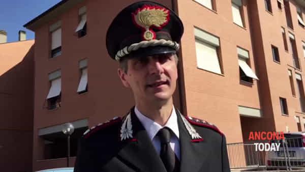 Omicida in caserma, il punto del comandante dei carabinieri Cristian Carrozza  | VIDEO