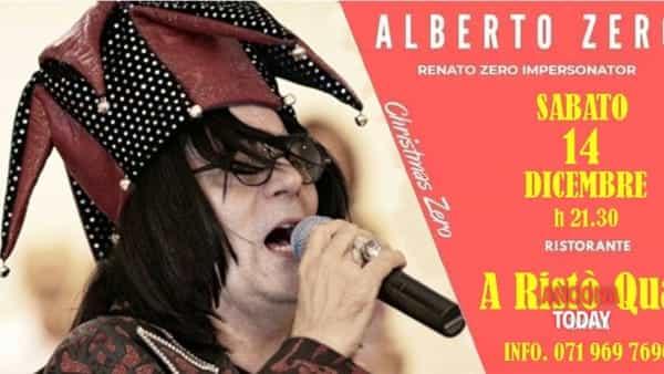 Alberto Zero: live della band cover del mitico Renato