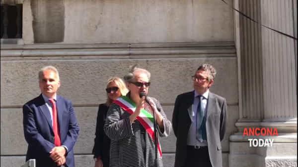 Il Tribunale ha un nome: da oggi si chiama Vittorio Salmoni - VIDEO