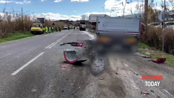 Incidente camion-autobus, diversi feriti: le immagini dello schianto | VIDEO