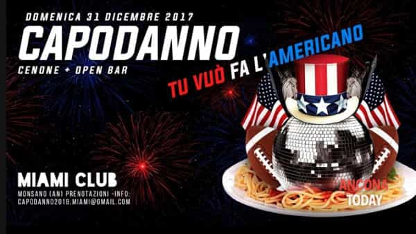 "Party al Miami: festa in stile ""american dream"" per Capodanno"