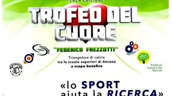 """""""Lo sport aiuta la ricerca"""", Trofeo del cuore al Del Conero per Federico"""