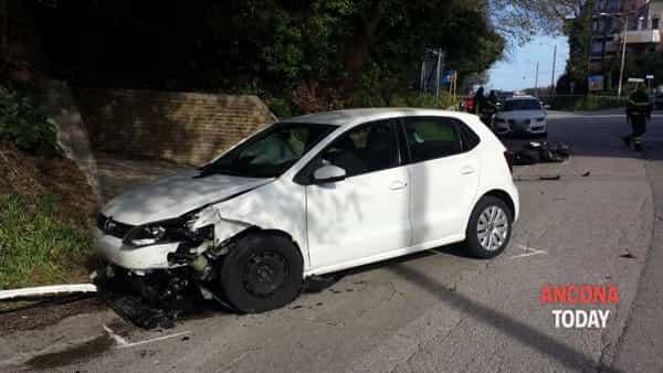 Incidente stradale a Pietralacroce 1-2