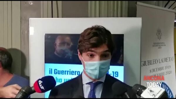 Acquaroli spiega l'ordinanza anti-Covid | VIDEO