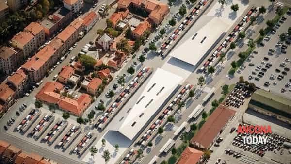 Presentato il nuovo mercato di piazza d'Armi: «Andiamo avanti nonostante il casino» | VIDEO