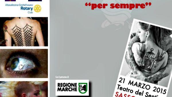 Tatuaggi e piercing, un convegno a Sassoferrato sabato 21 marzo