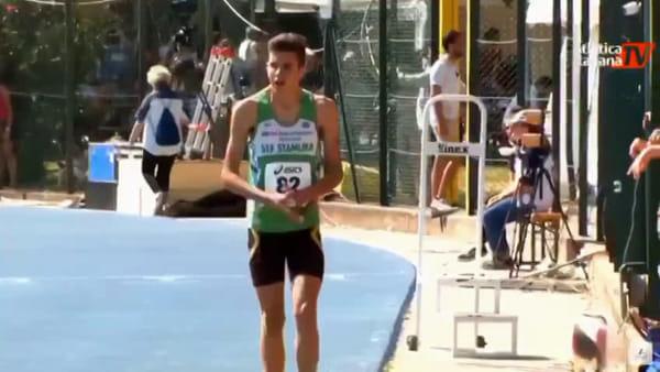 Nicola Sanna super nel salto triplo, la prova dell'anconetano - VIDEO