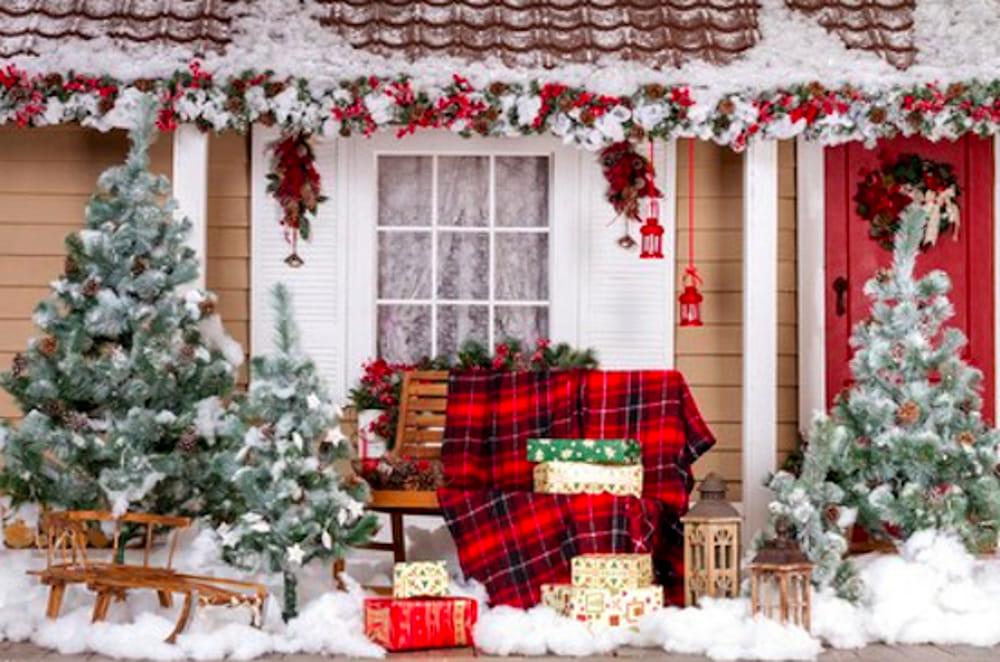 Decorazioni Natalizie Balconi.Natale Vicino Idee Per Arredare Giardino Terrazzo E Balcone Ad Ancona