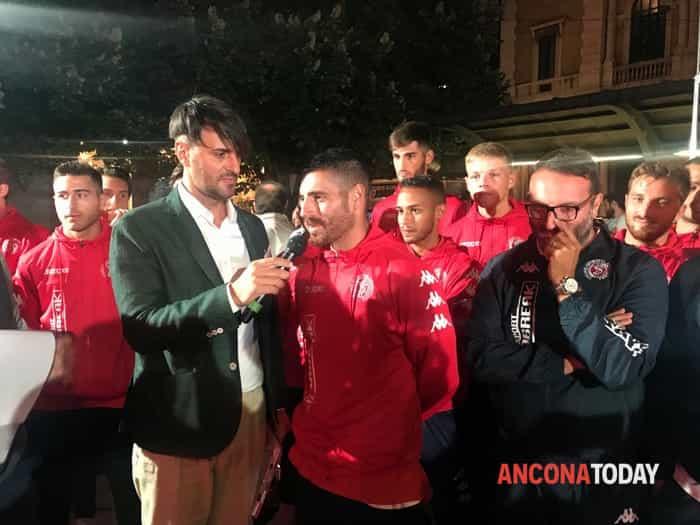 Alex Ambrosini e mister Davide Ciampelli