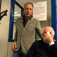 l'avvocato Andrea Bordoni con il padre-2
